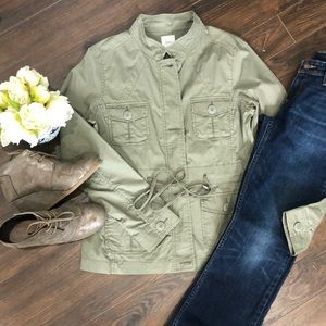 Gap Military-Style Fall Jacket- Medium